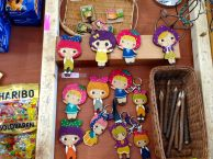 Really cute keychains for sale.